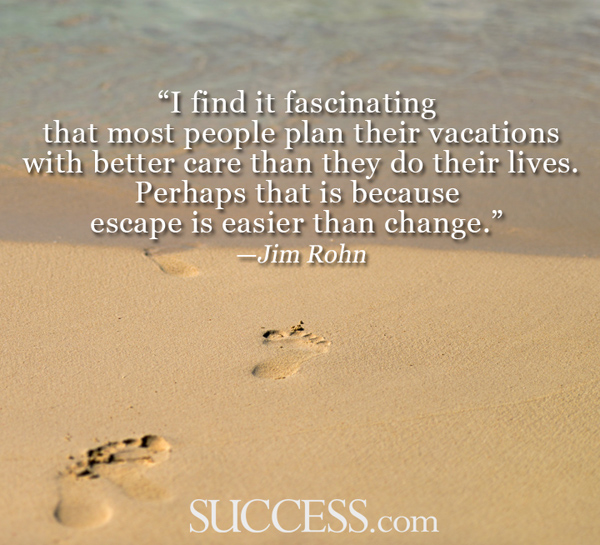 And yep... that's been me. I am a vacation planner extraordinaire! Time to be a life planner extraordinaire!