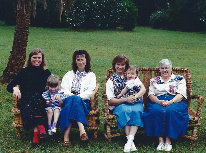 Traci with Rosemary and some other missionaries at Karen Blixen's house (Out of Africa)