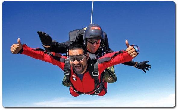 Bucket List - Skydive