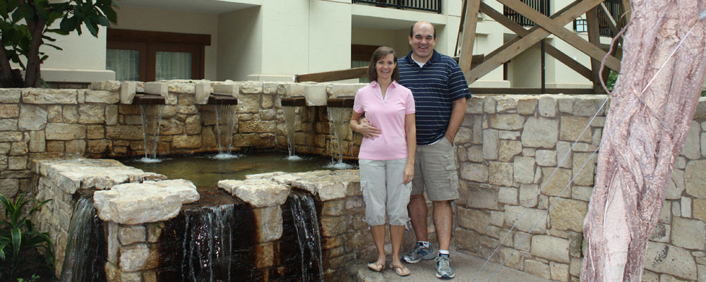 Rich and Traci at the Gaylord