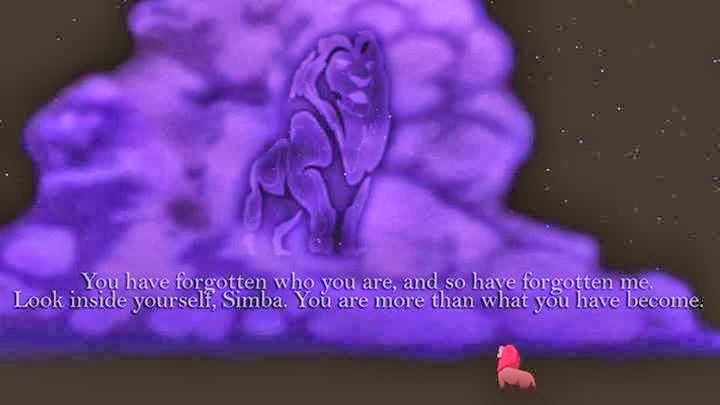 Lion King forgot who you are